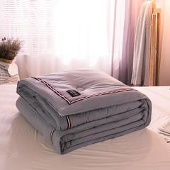 水洗棉TB织带冬被 200*230cm 6斤 粉