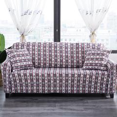 波斯棉万能沙发套 单人S码85~135范围 黑色星期