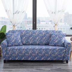 波斯棉万能沙发套 单人S码85~135范围 今夏花开