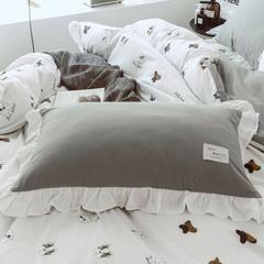 公主风全棉磨绒系列 棉加绒 1.5m(5英尺)床 初见