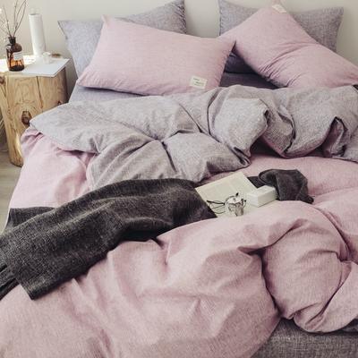 2018秋冬新品 日式风全棉水洗棉系列 床单款 1.2m(4英尺)床 安妮