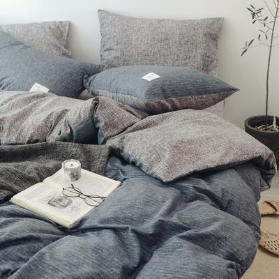 2018秋冬新品 日式风全棉水洗棉系列 床单款 1.8床笠 诺威