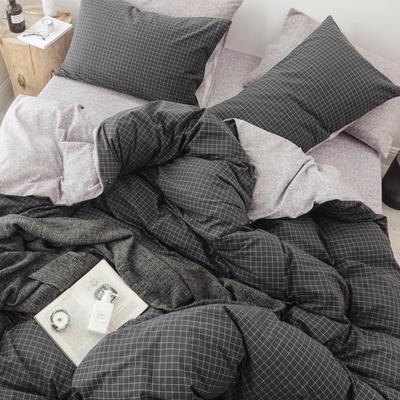 2018秋冬新品 日式风全棉水洗棉系列 床单款 1.8床笠 空间