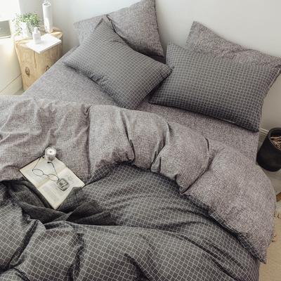2018秋冬新品 日式风全棉水洗棉系列 床单款 1.2m(4英尺)床 温克