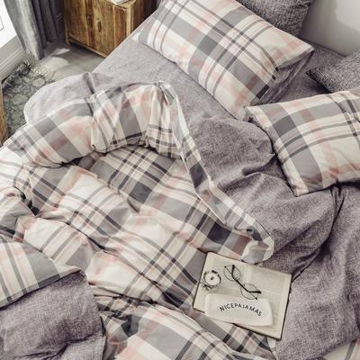(总)2019春夏新品 全棉日式水洗棉系列 1.8床笠(被套2*2.3) 典雅