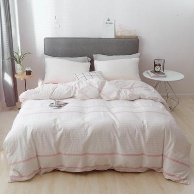 2019新款-简约全棉水洗棉系列(单被套) 200X230cm 恬素