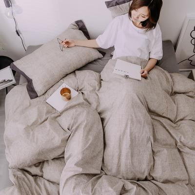 2019新款-创意家居生活系列四件套 1.8m(6英尺)床 卡思-米