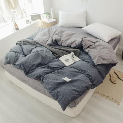2019新款-全棉日式水洗棉系列(单被套) 150x200cm 诺威