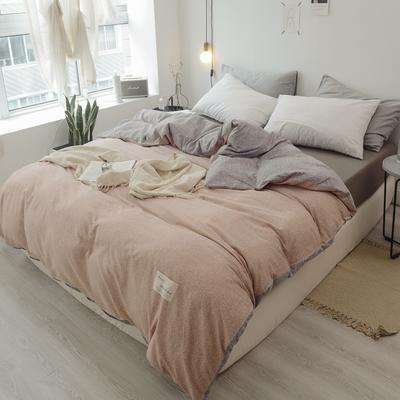 2019新款-全棉日式水洗棉系列(单被套) 150x200cm 希娜