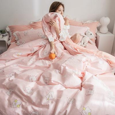 2019春夏新品 公主风全棉水洗棉系列 床裙款 1.2床裙 麦兜