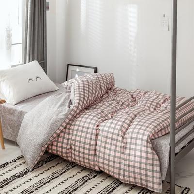 2019新款-全棉水洗棉(学生宿舍)单被套 单被套150x200cm 艾琳