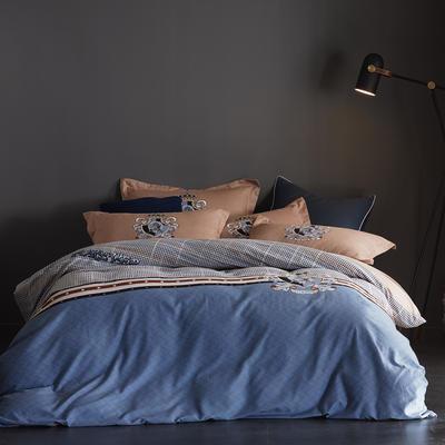 2019新款-全棉磨毛阳光暖绒四件套 床单款1.8m(6英尺)床 玛丽亚