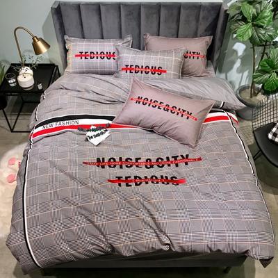 2019新款-全棉磨毛阳光暖绒四件套 床单款1.8m(6英尺)床 慢生活