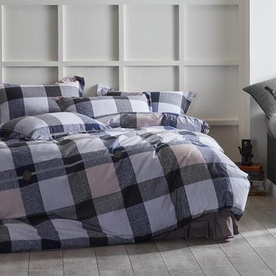 2019新款-全棉磨毛阳光暖绒四件套 床单款1.8m(6英尺)床 瑞琦