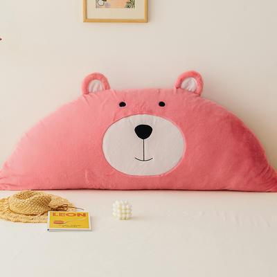 2019新款-熊床靠背 1.2M含芯 笨笨粉熊
