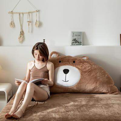 2019新款-熊床靠背 1.2M含芯 笨笨棕熊