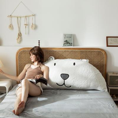 2019新款-熊床靠背 1.2M含芯 凯宝大熊-白