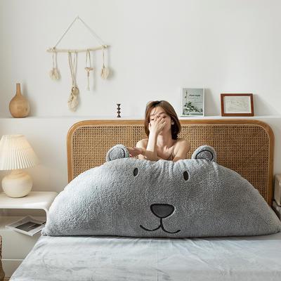 2019新款-熊床靠背 1.2M含芯 凯宝大熊-灰