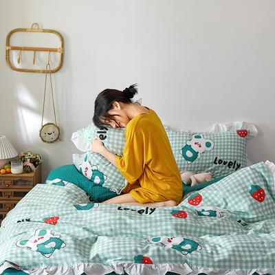 2020新款-公主风萌宝系列四件套 床单款三件套1.2m(4英尺)床 杰瑞
