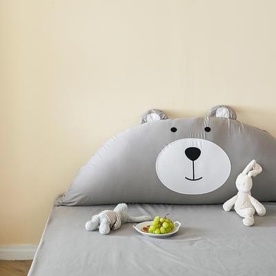 2020新款 全棉呆呆熊靠背系列 1.2m 呆呆灰熊