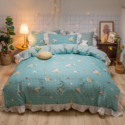 2020款新款-全棉萌宝系列四件套(实拍) 床单款三件套1.2m(4英尺)床 乐町
