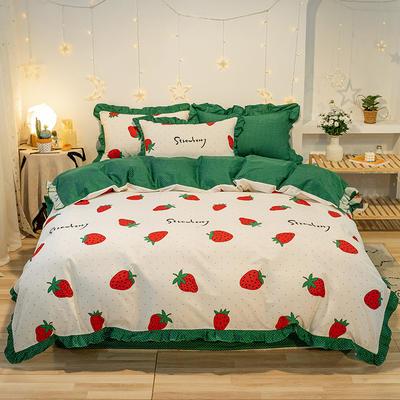 2020款新款-全棉萌宝系列四件套(实拍) 床单款三件套1.2m(4英尺)床 梦吧啦
