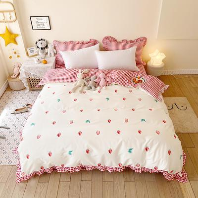 2020款新款-全棉萌宝系列四件套(实拍) 床单款三件套1.2m(4英尺)床 梦之恋