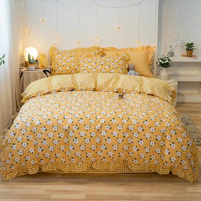 2020款新款-全棉萌宝系列四件套(实拍) 床单款四件套1.5m(5英尺)床 夏末