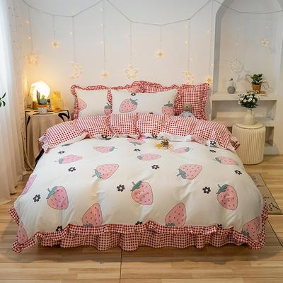 2020款新款-全棉萌宝系列四件套(实拍) 床单款三件套1.2m(4英尺)床 伊诺