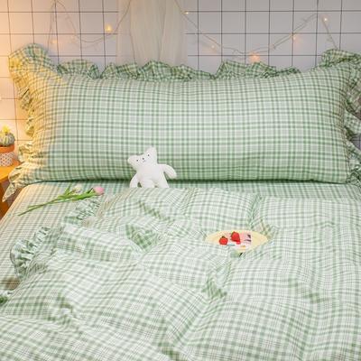 2020款新款-全棉公主风璇系列床靠背 1.2m(含芯)/只 璇绿 床靠背