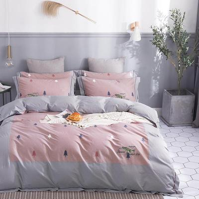 2019新款美肌棉韩款印花工艺款 1.8m(6英尺)床 童趣