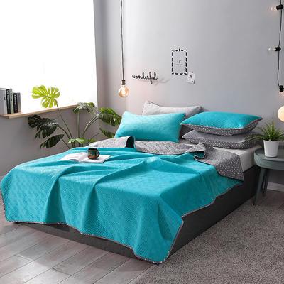2019新款网红萝莉床盖毯 同款枕套/对 心情蓝