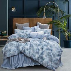2018新款60支长绒棉数码印花系列四件套-奢华机理 1.5m(5英尺)床 爱夏