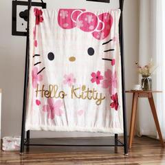 羊羔绒毛毯 水晶绒羊羔绒毯 5cm包边 多功能毯子 80*120 kitty