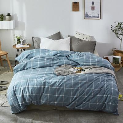 2019新款-色织水洗棉单品枕套 48cmX74cm 米莱灰
