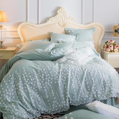 新品纯手工60S贡缎长绒棉四件套--那年花开 标准(1.5-1.8m)床 那年花开