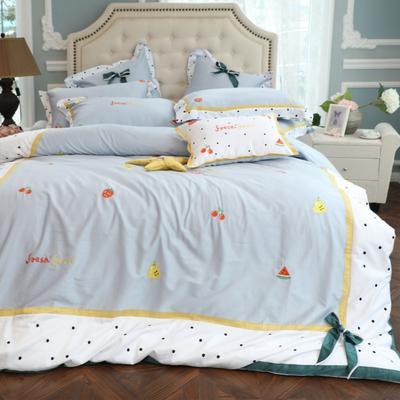 2019新款-60支长绒棉四件套 1.5m(5英尺)床 童趣