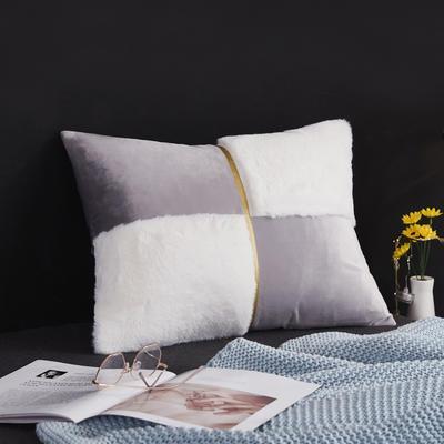 2019新款-轻奢抱枕含芯 长方形35*50/含芯 004#
