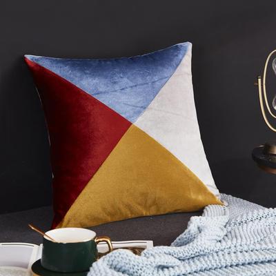 2019新款-轻奢抱枕含芯 正方形45*45cm/含芯 012#