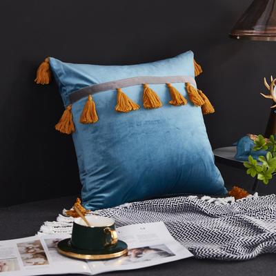 2019新款-轻奢抱枕含芯 正方形45*45cm/含芯 016#