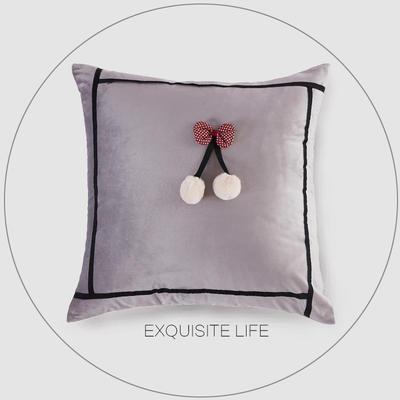 2019新款-轻奢抱枕含芯 正方形45*45cm/含芯 020#