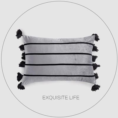 2019新款-輕奢抱枕含芯 50*35cm/含芯 035#