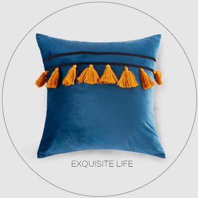 2019新款-輕奢抱枕含芯 正方形45*45cm/含芯 037#