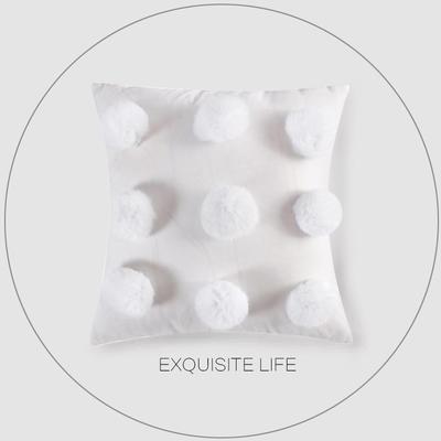 2019新款-轻奢抱枕含芯 正方形45*45cm/含芯 038#