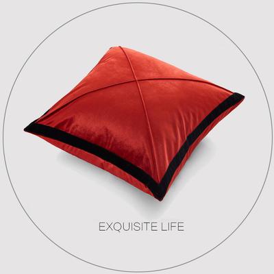 2019新款-輕奢抱枕含芯 正方形45*45cm/含芯 039#