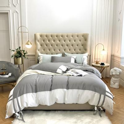 2020新款-60支天丝澜庭四件套 床单款1.8m(6英尺)床 高级灰