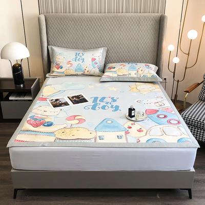 2021新款-800D加厚凉席 1.8*2床单款凉席 童话王国