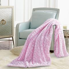 北欧水貂绒毯 150*200 香奈粉
