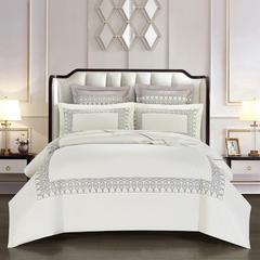 60S长绒棉刺绣升级系列 标准1.5-1.8m 精细 白