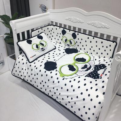2018新款婴儿幼套件 1.2m(4英尺)床 熊猫